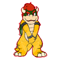 Chibi Bowser by Cayshax