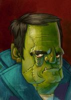 Frankenstein's Monster by danidraws