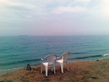 AinSokhna Beach 05 - waiting by etech-savvy