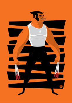 Wolverine Vector by funky23