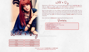 Wild and Sexy - red hair dye fanlisting by PinkWoods