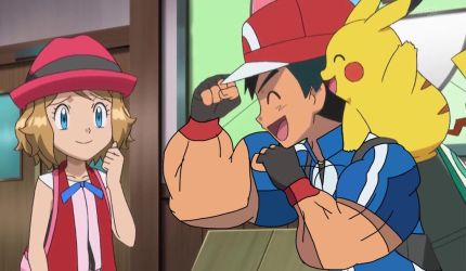 Ash Impressing Serena (Male Muscle Edit) by Ducklover4072