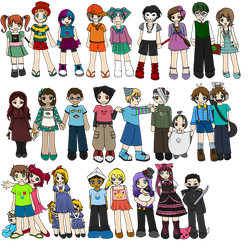 Emoti-Kids Project (closed) by happy-gurl