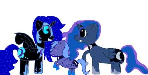 3 times the Luna by Riverheart95