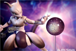 Variable Action Heroes Pokken Tournament  Mewtwo by Alien-Sama