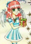 Holiday Series '16:  Merry Christmas Angel Mamami by vicfania8855