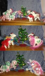 Christmas themed My Little Pony collection by professoroak