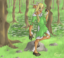 Secret of the Forest by Tanize