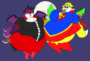 Kiria and Sabrina's Candy Haul by BigBellyGirl13