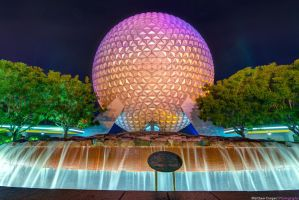 A Colorful Spaceship Earth by shaderf