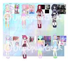 aestethic adopts (open 1/8) by UnpopularGeek