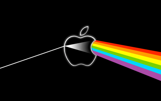 The Dark Side of the Apple by Ellmer