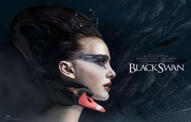 The Black Swan by Etienne-Ripzaad