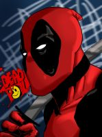 Deadpool needs some rest by ZethKeeper