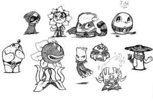 PvZ heroes - the heroes by shadowgirl211