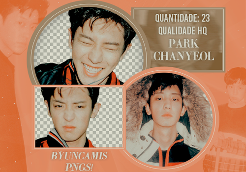 [PNG PACK #60] Chanyeol (EXO) by ByunCamis