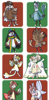 BB| Christmas BBs by katie-monkey