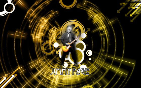 Jimmy Page Wallpaper by gangsterg