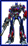 Optimus Prime Stamp by WOLFBLADE111