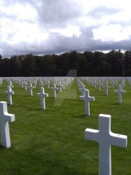 Luxembourg American Cemetery and Memorial by CelestinaGrey
