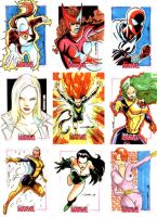 Women of Marvel 03 by Cinar