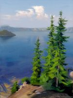 Crater Lake by robrey