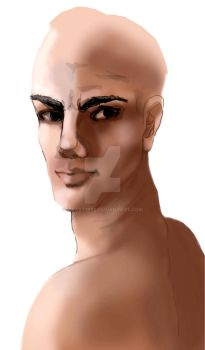 MALE BASIC FACE by MyArt1992