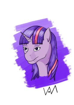 Twilight portrait by 0-Van-0