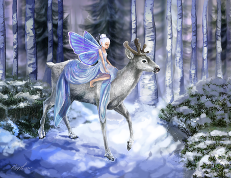 Snow Fey by InkFey