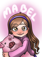 Gravity Falls - Mabel Pines by AzaraLunatica