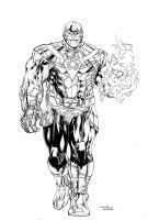 Thanos of Sinestro Corps  by SpiderGuile