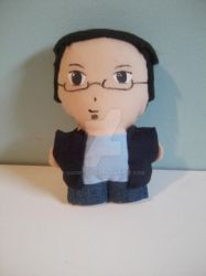 J Michael Tatum Mini Plushie by snowtigra