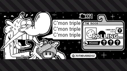 Splatoon 2: You reroll the moon! by JoTheWeirdo
