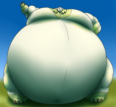 Tubby Tank Terriermon by RickyDemont