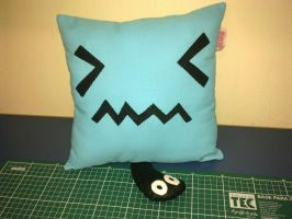 Handmade Anime Pokemon Wobbuffet Plush Pillow