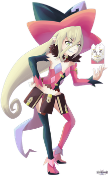 Tales of- Magilou by GamefreakDX