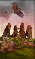 Gryph Tarot - Wheel of Fortune by Bailiwick