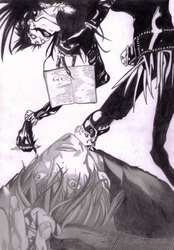 Light's death based on manga by Zumay-Is-Love