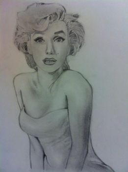 Marilyn monroe 2 by InconsistantMe