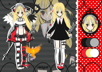 [CLOSED] Magical Girl Adoptable Auction #2 by mintycatart