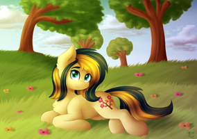 Flowers [Commission] by Spirit-Dude