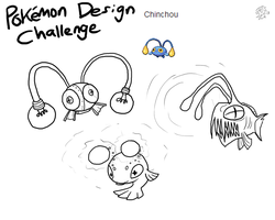 Pokemon Design Challenge - Chinchou