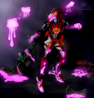 OC Hideaway Beast Mode  by VendettaPrimus PNG by destallano4