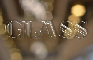 Free Glass Text Effect / Layer Style by Textuts