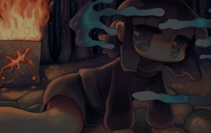 Fire's Function at night by FadoCanSlap
