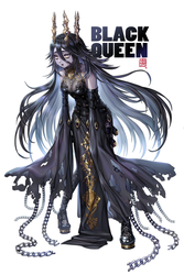 Black Queen by hotpppink