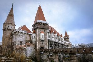 Corvin Castle by mydarkeyes
