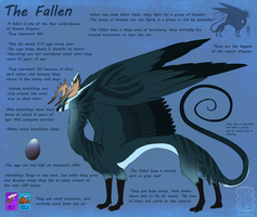 The fallen - Species ref by Yechii