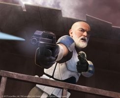 Captain Rex by Thaldir