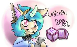 Unicorn popper by uniiz